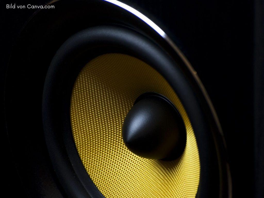 Musikanlage kaufen; HiFi Stereoanlage - Lautsprecher