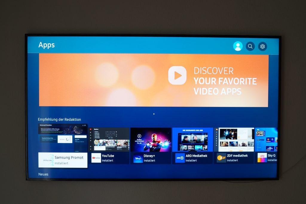 Samsung the Frame 2021 Apps